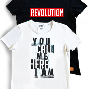 T-Shirt Revolution Call Me 3
